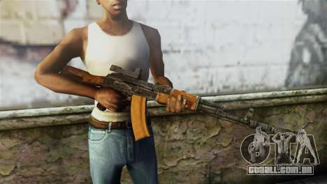AK-74 Sight para GTA San Andreas terceira tela