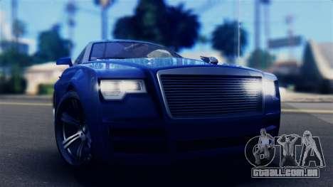 GTA 5 Enus Windsor IVF para GTA San Andreas vista direita