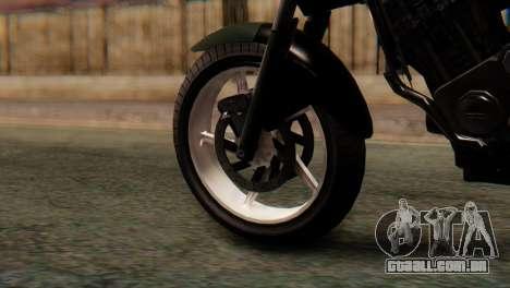 Bajaj Rouser 135 Stunt para GTA San Andreas traseira esquerda vista