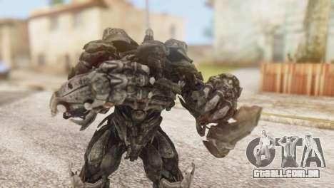 Shockwave Skin from Transformers v1 para GTA San Andreas