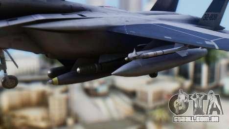 F-22J Japan Air-Self Defense Force para GTA San Andreas vista direita