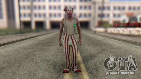 Clown Skin from Left 4 Dead 2 para GTA San Andreas