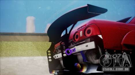 Nissan Skyline GT-R R32 Battle Machine para GTA San Andreas vista interior