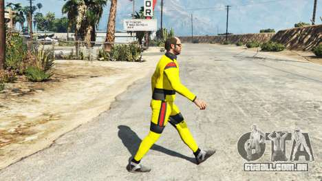 GTA 5 O terno de karate terceiro screenshot