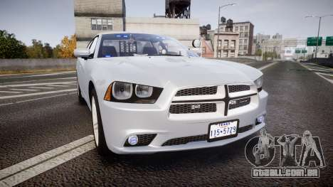 Dodge Charger Traffic Patrol Unit [ELS] bl para GTA 4
