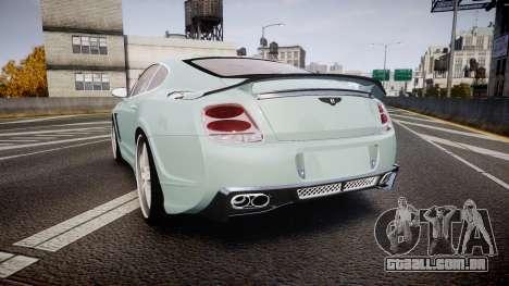 Bentley Continental GT Platinum Motorsports para GTA 4
