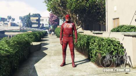 O Flash Traje para GTA 5