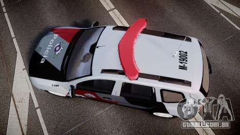 Lada Duster 2015 PMESP [ELS] para GTA 4 vista direita