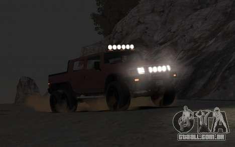 Mammoth Patriot 6x6 para GTA 4 vista direita