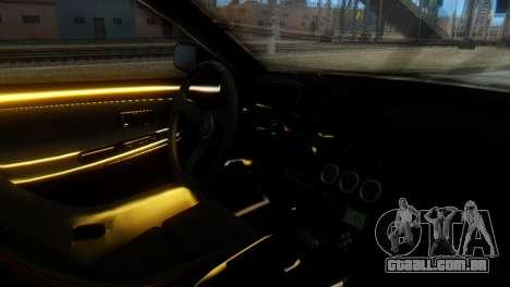 Nissan 180SX Uras Bodykit para GTA San Andreas vista direita