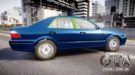 Mazda 626 para GTA 4 esquerda vista
