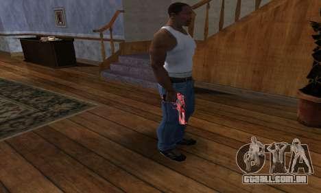 Black Lines Deagle para GTA San Andreas terceira tela
