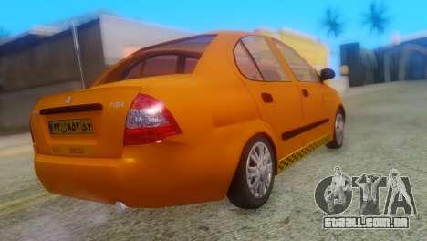 Tiba Taxi v1 para GTA San Andreas esquerda vista