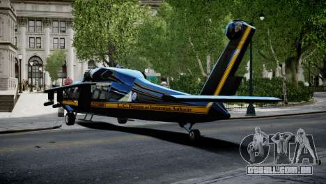 Annihilator from GTA 5 para GTA 4 esquerda vista