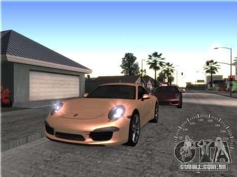 Simples velocímetro para GTA San Andreas segunda tela