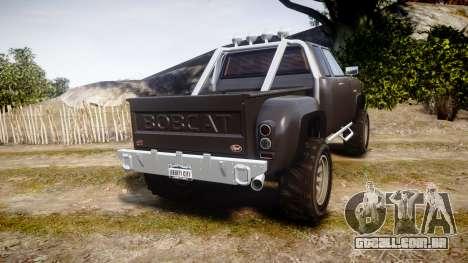 Vapid Bobcat Hillbilly para GTA 4 traseira esquerda vista