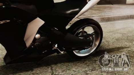 Honda CBR250R para GTA San Andreas vista traseira