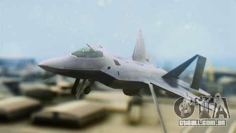 F-15DJ (E) JASDF Aggressor 32-8081 para GTA San Andreas vista traseira