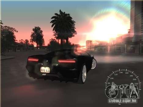 Simples velocímetro para GTA San Andreas