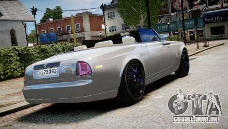 Rolls-Royce Phantom Coupe 2009 para GTA 4 esquerda vista