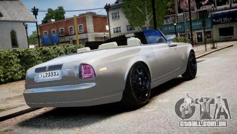 Rolls-Royce Phantom Coupe 2009 para GTA 4 esquerda vista