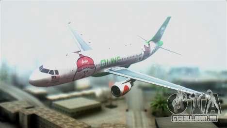 Airbus A320-200 AirAsia Line para GTA San Andreas