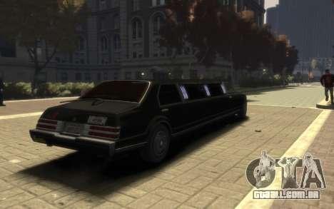 Albany Esperanto Limousine para GTA 4 esquerda vista