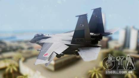 F-22J Japan Air-Self Defense Force para GTA San Andreas esquerda vista