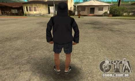 Cool Bitch Five para GTA San Andreas por diante tela