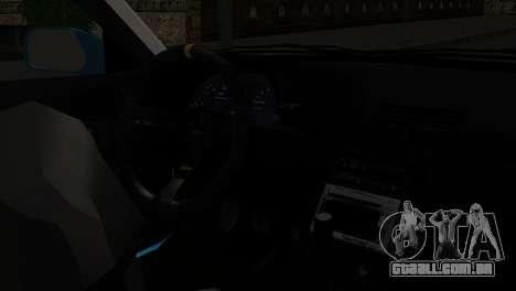 Nissan Skyline R32 Camo Drift para GTA San Andreas vista direita