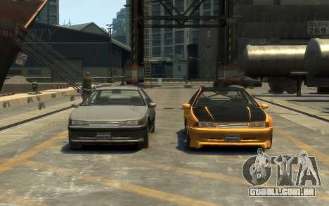 Vapid Fortune Drift para GTA 4 vista direita