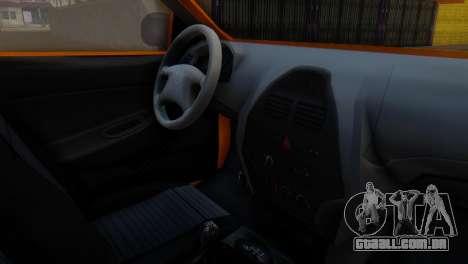 Tiba Taxi v1 para GTA San Andreas vista direita