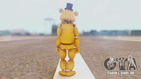 Golden Freddy v2 para GTA San Andreas terceira tela