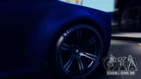 GTA 5 Enus Windsor IVF para GTA San Andreas vista traseira