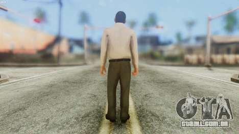 GTA 5 Skin 4 para GTA San Andreas segunda tela