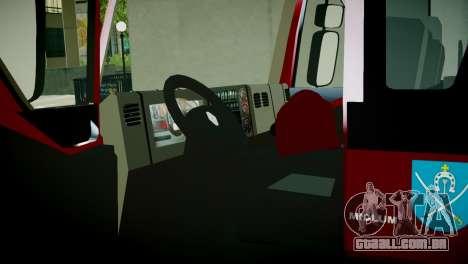 Renault Midlum 300.14 dXi Firetruck para GTA 4 vista de volta