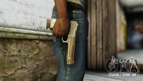 Desert Eagle Skin from GTA 5 para GTA San Andreas terceira tela