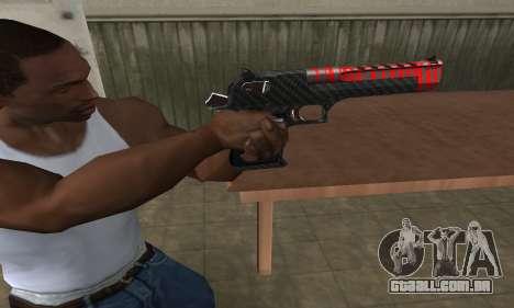 Red Tiger Deagle para GTA San Andreas