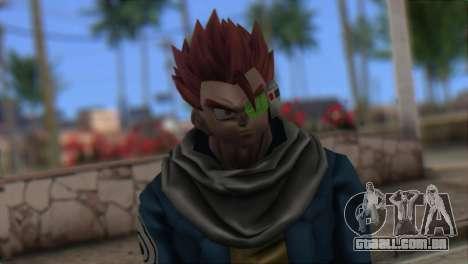 Dragon Ball Xenoverse Mysterious Warrior para GTA San Andreas terceira tela