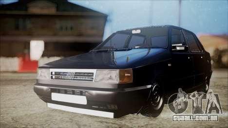Fiat Duna Al Piso para GTA San Andreas traseira esquerda vista