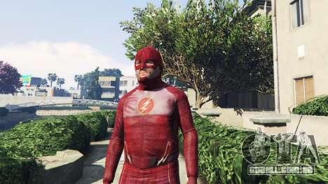 GTA 5 O Flash Traje segundo screenshot