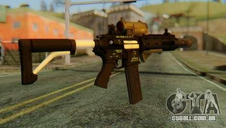 Carbine Rifle from GTA 5 v2 para GTA San Andreas segunda tela