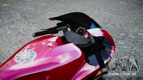 Bike Bati 2 HD Skin 3 para GTA 4 vista direita