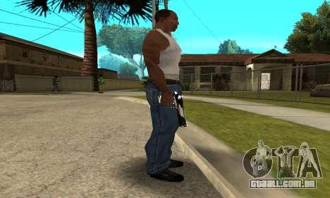 Two Lines Deagle para GTA San Andreas segunda tela