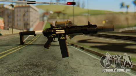 Carbine Rifle from GTA 5 v2 para GTA San Andreas