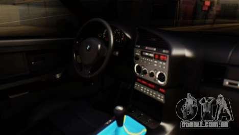 BMW 320i para GTA San Andreas vista direita