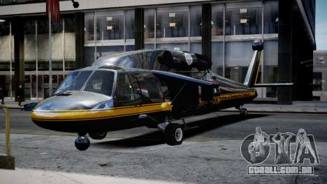 Annihilator from GTA 5 para GTA 4