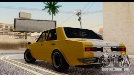 GTA 5 Vulcar Warrener SA Style para GTA San Andreas esquerda vista