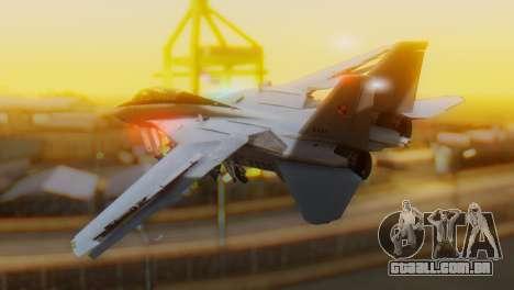 F-14A Tomcat Marynarka Wojenna RP para GTA San Andreas esquerda vista