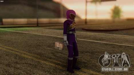 Power Rangers Skin 7 para GTA San Andreas terceira tela